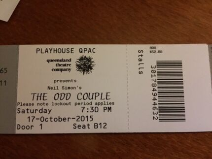 The Odd Couple / Queensland Theatre Company @ QPAC Caboolture Caboolture Area Preview