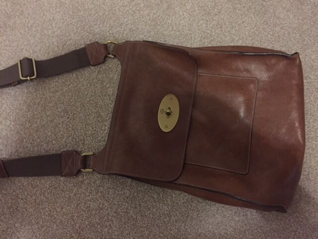 bf34032008 ... best price mulberry anthony messenger bag and mulberry long locked purse  in oak natural leather 1b8bc