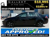 2010 Ford Focus SES $109 bi-weekly APPLY TODAY DRIVE TODAY
