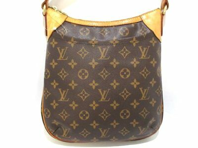 Auth LOUIS VUITTON Odeon PM M56390 Monogram CA2079 Shoulder Bag