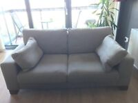 Grey Next Two Seater Sofa - barely used and in excellent condition