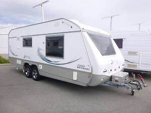 Jurgens Caravan Strong and Light Weight With 2 Solar panels Maddington Gosnells Area Preview