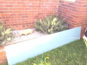 Frosted glass sheet green approx. 500mm x 2600mm in new condition Northbridge Willoughby Area Preview