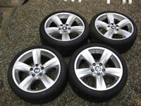 """18"""" BMW OEM STYLE 189 SPORTS PACKAGE WHEELS - BRAND NEW"""