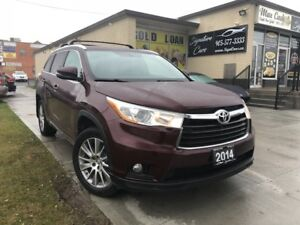 2014 Toyota Highlander XLE-FULLY LOADED/TOP OF THE LINE/Sunroof/