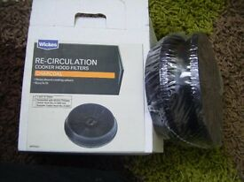 NEW Re- circulation cooker hood filters