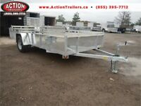 14' SINGLE AXLE ALL ALUMINUM UTILITY TRAILER - IN STOCK SPECIAL! London Ontario Preview