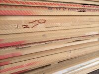 8ft x 6ft 22mm thick - Mixed MDF sheets - ideal for racking, shelving, cladding
