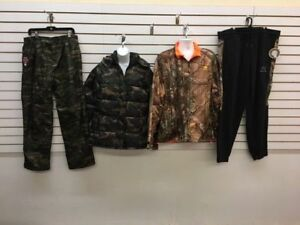Men and Women Camo Jackets and Wear