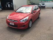 2015 Hyundai Accent RB2 Active 4 Speed Automatic Hatchback Berrimah Darwin City Preview