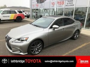 2016 Lexus IS 350 AWD F-Sport Series 2 TEXT 403.894.7645