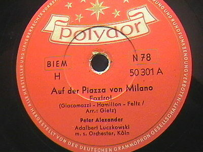 5/4 Peter Alexander/Peterli Hinnen - Auf der Piazza von