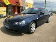 2004 Ford Falcon BA Mk II SR Blue Sports Automatic Sedan Kurri Kurri Cessnock Area Preview