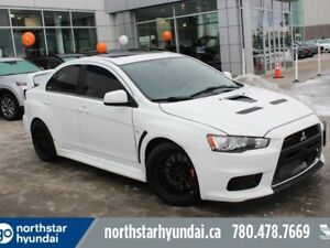 2012 Mitsubishi Lancer Evolution MR/SUNROOF/NAV/RIMS