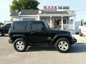 2008 Jeep Wrangler Sahara Edition Top of the Line