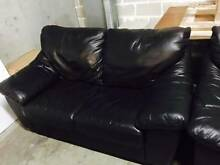 2 Seater Dark Brown Leather Lounge Excellent Condition Bondi Junction Eastern Suburbs Preview