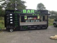 Bar Trailer Unit For Sale