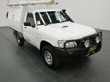 2011 Nissan Patrol GU MY08 DX (4x4) White 5 Speed Manual Cab Chassis Fyshwick South Canberra Preview