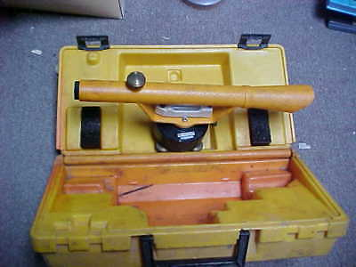 BERGER INSTRUMENTS SURVEYING SCOPE 125- 19795 STORAGE FIND WITH CASE