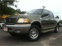 2002 Ford F-150 King Ranch One Owner very clean.