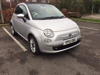 2012 Fiat 500C 1.2 Lounge,Convertible Only 27,600miles Full FIAT Serv Histry,Only 1 Owner New,£30Tax