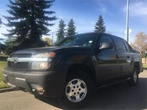2003 Chevrolet Avalanche 4x4 = CLEAN CAR PROOF = ALBERTA TRUCK