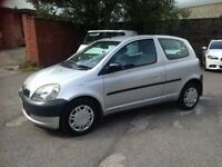 TOYOTA YARIS 1.0 - ONE FAMILY OWNED FROM NEW, LONG M.O.T - VERY GOOD CHEAP CAR