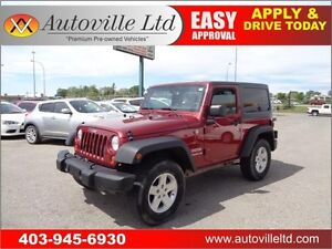 2011 Jeep Wrangler Sport 4X4 THIS WEEKEND ONLY $ 14988