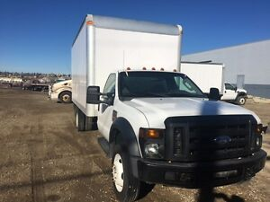 2008 Ford F450 16' Delivery Van