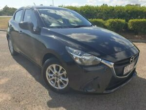 2014 Mazda 2 DJ2HA6 Maxx SKYACTIV-MT Black 6 Speed Manual Hatchback