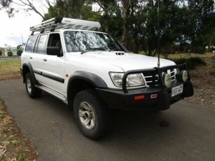 2004 Nissan Patrol White Manual Wagon Mile End South West Torrens Area Preview