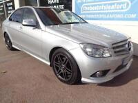 Mercedes-Benz C220 2.1TD auto 2007 CDI Sport Full S/H £3495 added extras P/X