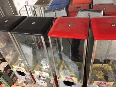 .75 75 Cent Vend Northwestern 2 Capsule Toy Vending Machine 2 Inch Vendor