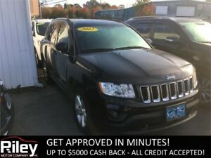 2012 Jeep Compass Sport STARTING AT $112.30 BI-WEEKLY