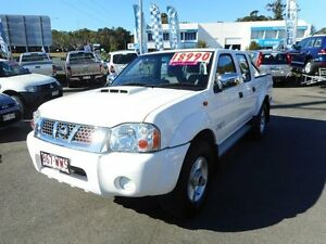 2013 Nissan Navara D22 S5 ST-R White 5 Speed Manual Utility Alexandra Headland Maroochydore Area Preview