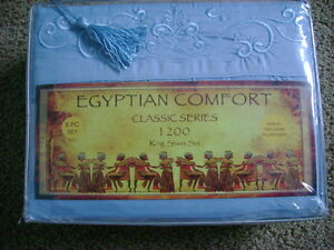 NEW Egyptian King Size Sheet Set~~~REDUCED