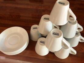 Conical Espresso Cups 60ml 2oz