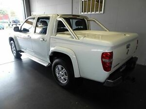 2010 Holden Colorado RC MY10 LT-R (4x4) White 5 Speed Manual Crewcab Woodridge Logan Area Preview