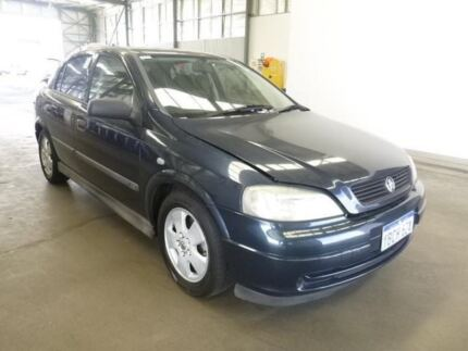2001 Holden Astra TS CD Blue 4 Speed Automatic Hatchback