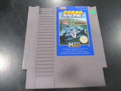 TURBO RACING pour Nintendo NES PAL FRA