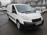 Peugeot Expert 1200 L2 1.6 Hdi 90 H1 Van DIESEL MANUAL WHITE (2013)