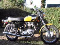 Triumph Bonneville T120R 1971