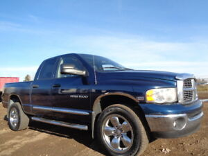 2005 Dodge Power Ram 1500 LARAMIE-4X4-LEATHER-SUNROOF-5.7L HEMI