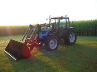 Landini Globus 80 Top Tractor/Loader, 80 Hp, ONLY 757 HOURS!!!
