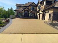 Exposed Aggregate and Stamped Concrete! Free Quotes!