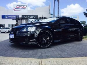 2010 Holden Commodore VE MY10 SS Black 6 Speed Manual Sportswagon Beckenham Gosnells Area Preview