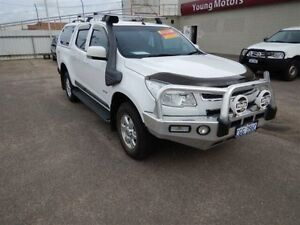 2013 Holden Colorado RG MY14 LT (4x4) Summit White 6 Speed Automatic Crewcab Geraldton Geraldton City Preview