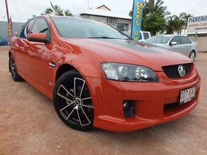 2006 Holden Commodore VE SS V Orange 6 Speed Manual Sedan Hyde Park Townsville City Preview