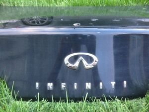Infiniti G35 Coupe Trunk
