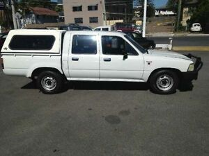 1994 Toyota Hilux RN85R DX White Automatic Utility Greenslopes Brisbane South West Preview
